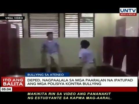 Bullying incident sa Ateneo de Manila, kinondena ng DepEd at Phil. Taekwondo Association