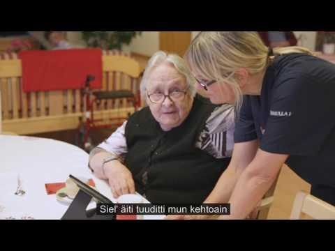 Björnkulla äldreboende (finsk text)