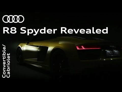 The all-new Audi R8 Spyder: Unleashed