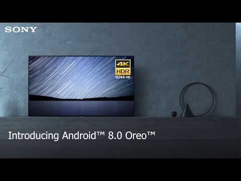 Introducing Android™  8.0 Oreo™  on Sony's Android TV