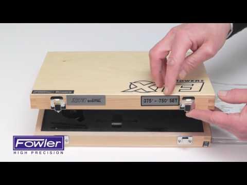 Fowler 54-367-020 BT XT3 Electronic Holemike Set