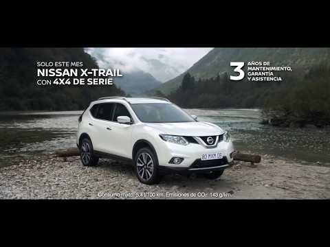 Vídeo anuncio Nissan X-Trail