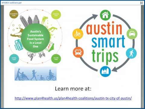 Plan4Health Mini-Webinar: Austin, TX