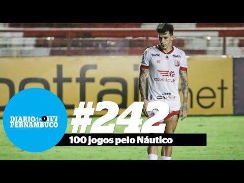 Destaque do Náutico, meia Jean Carlos completa 100 jogos com a camisa alvirrubra