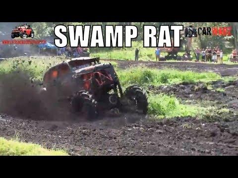 SWAMP RAT Gets A Wheel Up At Perkins Summer Sling Mud Bog 2018