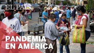 #CORONAVIRUS | AMÉRICA atraviesa el momento álgido de la PANDEMIA