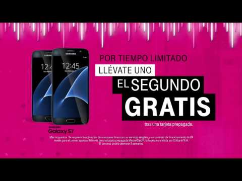Llévate tu Samsung Galaxy S7 con T-Mobile ONE.