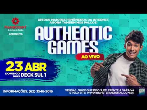 Authentic Games no Flamboyant Shopping