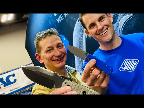 Knife Basics and Banter with David & Ben - SHOT SHOW 2020: Day 1