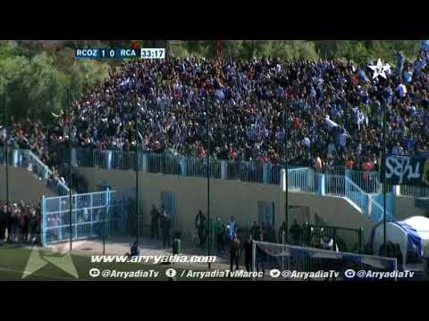 سريع وادي زم 2-0 الرجاء البيضاوي هدف عبد مولى برابح
