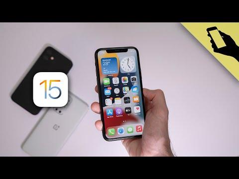 Baj, ha az Androidból lesnek? | iOS 15 újdonságok, telepítés