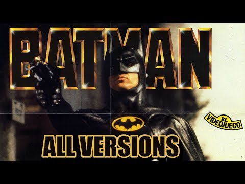 BATMAN THE MOVIE ALL GAMES