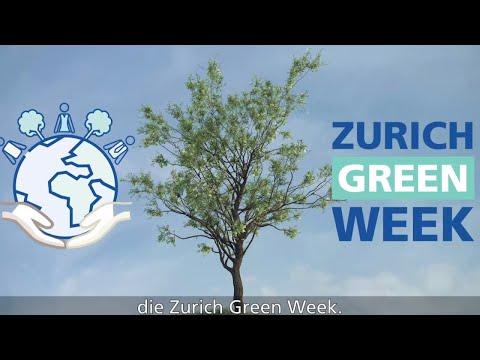 Zurich Green Week: Wir bleiben nachhaltig für unsere Zukunft!