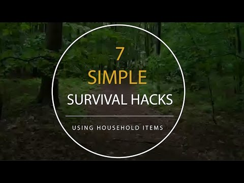7 Simple Survival Hacks Using Household Items