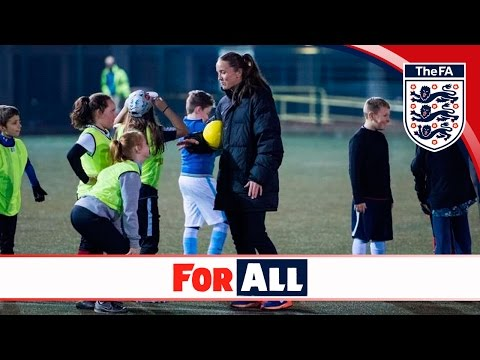 Casey Stoney: Life of Football   The FA For All