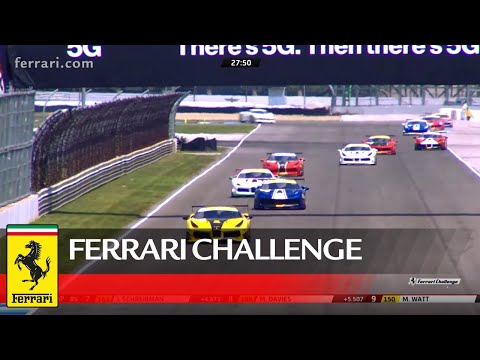 Ferrari Challenge North America - Indianapolis, Coppa Shell Race 2