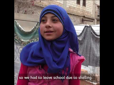 7,000 People In Idlib Are Displaced Every Day