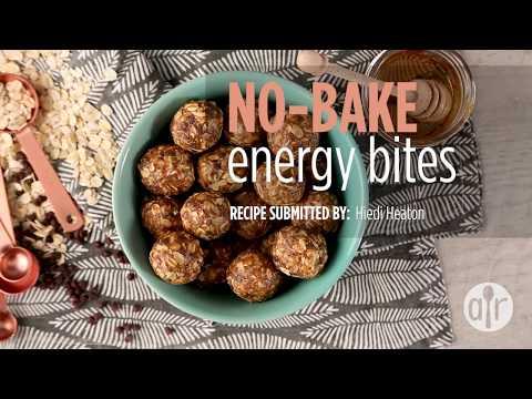 How to Make No-Bake Energy Bites | Snack Recipes | Allrecipes.com
