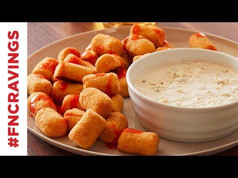 Baked Buffalo Cauliflower Tots | Food Network