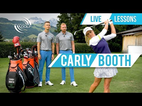 Live Lessons With CARLY BOOTH | ME AND MY GOLF