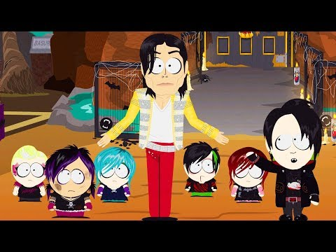 MICHAEL JACKSON & LITTLE BOYS BOSS FIGHT - South Park: The Fractured But Whole DLC Ending