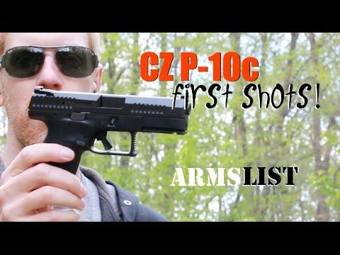 CZ P10c - First Shots!