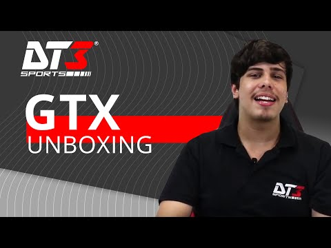 Unboxing e Review - GTX - DT3sports