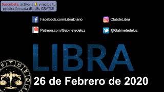 Horóscopo Diario - Libra - 26 de Febrero de 2020