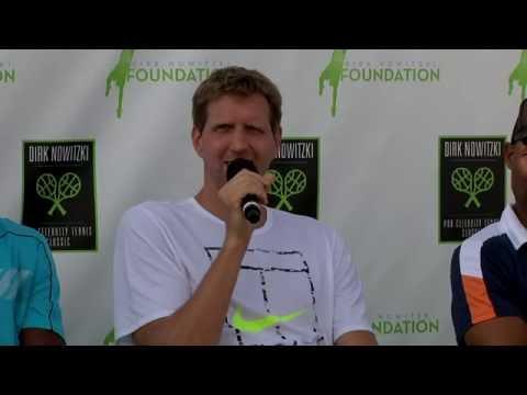 Isner, Roddick, Ben Stiller Help Dirk Nowitzki Foundation In Dallas 2016