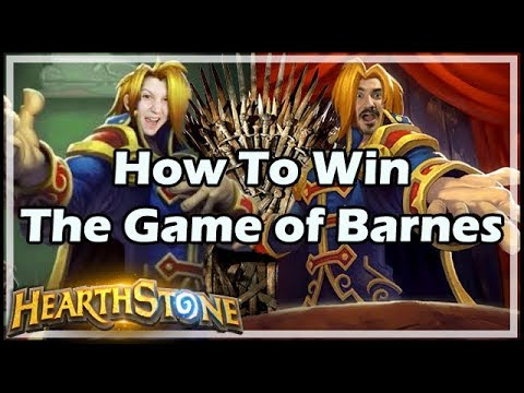 [Hearthstone] How To Win The Game of Barnes