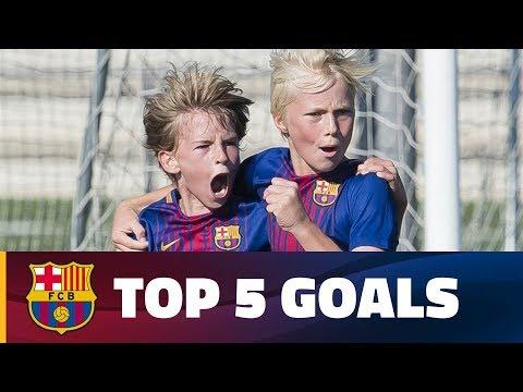FCB Masia-Academy: Top 5 goals 7-8 October