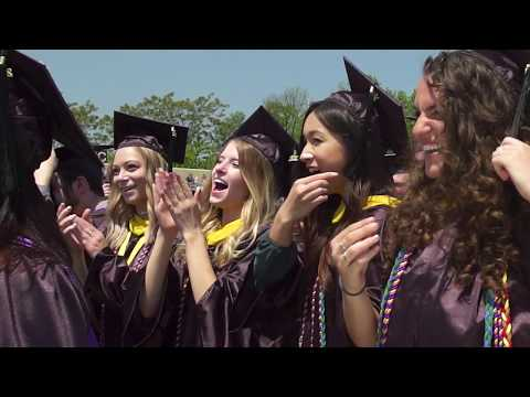West Chester University Commencement Highlight 2017