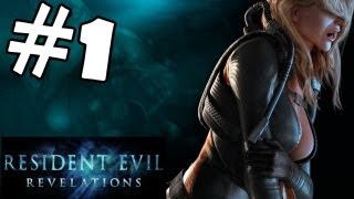 Resident Evil Revelations Walkthrough Part 1 Gameplay Review Let's Play Playthrough PC PS3 XBOX 360