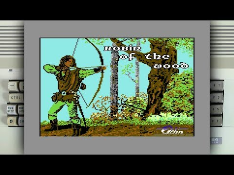 Robin of the Wood on the Commodore 64