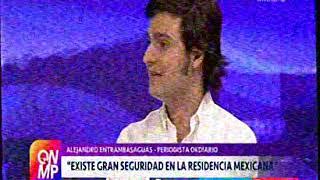 Entrevista a  Alejandro Entrambasaguas  en Que No Me Pierda sobre Carlos Romero parte 1