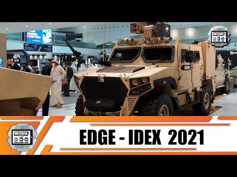 NIMR Al Jasoor EDGE review new generation of armored vehicles Ajban Hafeet Mk 2 Rabdan 6x6 8x8 laser