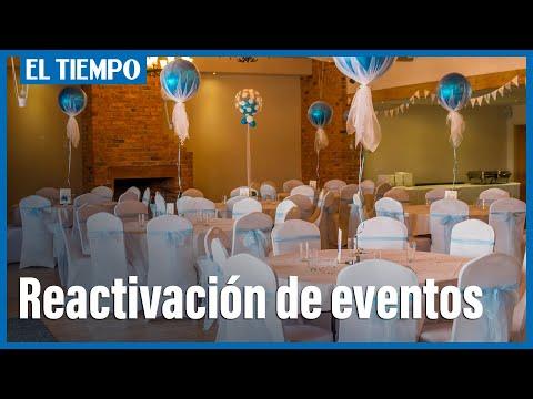 Reactivación económica para las empresas de eventos