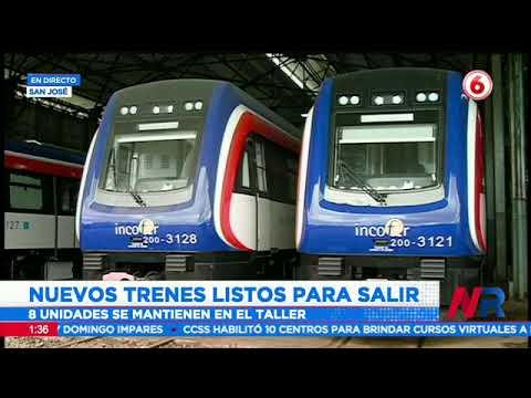 Nuevos trenes listos para primeras pruebas
