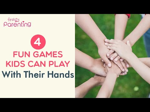4 Fun Games Kids Can Play With Their Hands