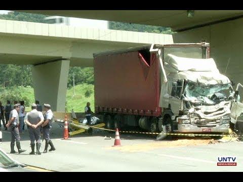 2 dead in helicopter crash in Sao Paulo, Brazil