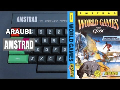 World Games (Epyx, 1987) Amstrad [011] 3P con Jordi y Rob Walkthrough Comentado