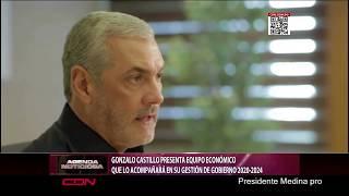 Gonzalo Castillo presenta equipo económico que lo acompañará en su gestión de Gobierno 2020-2024