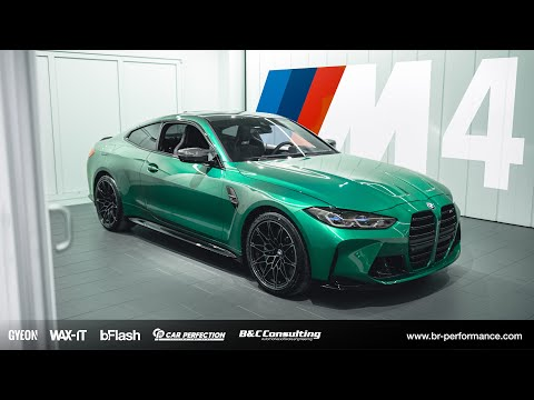 COLLECTING OUR 2021 BMW G82 M4 / Isle Of Man Green / *Insane Detailing Job*