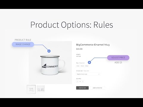 Product Options: Rules | BigCommerce Tutorials
