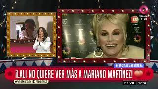 ¡Lali no quiere ver más a Mariano Martínez!