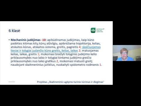 Atnaujinamų gamtamokslinio ugdymo bendrųjų programų fizikos mokymosi turinio pristatymas