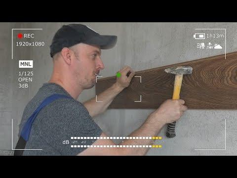5 Способов монтажа ламината на стену. Разбираем от А до Я. Выбираем самый лучший photo