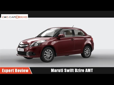 Maruti Swift Dzire AMT   Expert Review   CarDekho.com