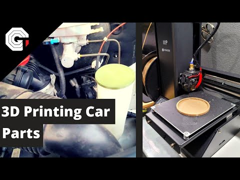 Designing and 3D Printing Van Parts w/Glytch