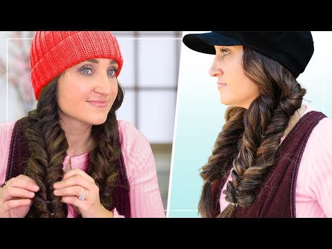 How To Create Fluffy Faux Fishtail Braids